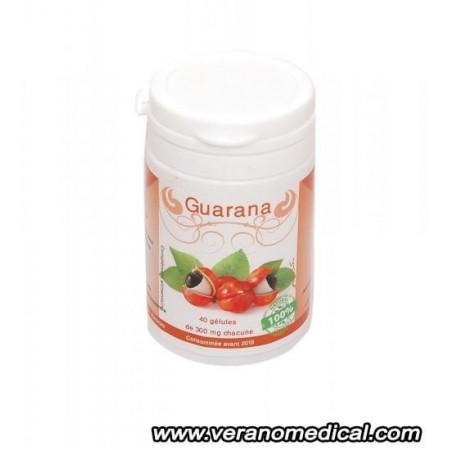 Guarana Bio 300 mg - 40 gélules