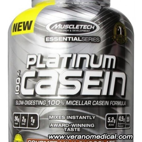 Platinum 100% Casein 1660 g MUSCLETECH