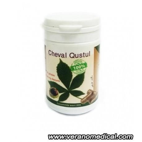Cheval Qustul 300mg 40 gélules