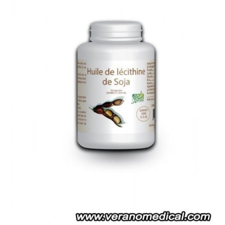 Huile de Lécithine-de Soja - 70 capsules