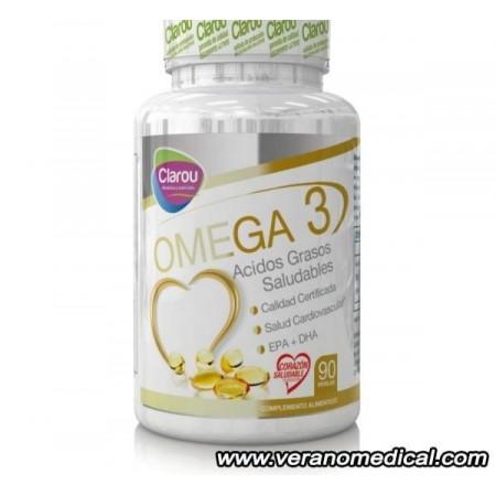 Omega 3- 90 Perlas Clarou