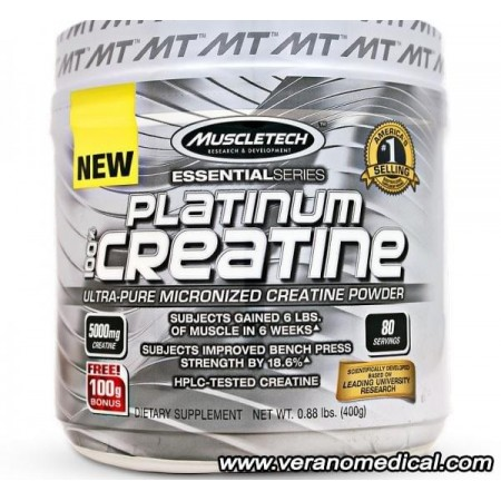 Platinum 100% Creatine 400 g  Muscletech