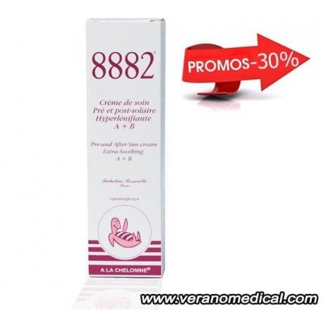 Crème pré et post solaire Hyper lénifiante A+B de 8882