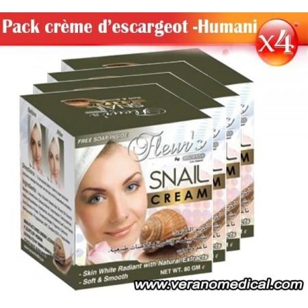Pack Crème d'escargot - Hemani x4