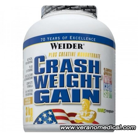 WEIDER CRASH WEIGHT GAINER 3kg