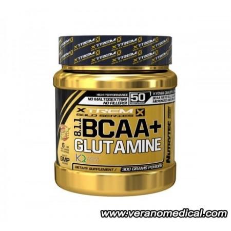 BCAA 8:1:1 + Glutamine 300 gr