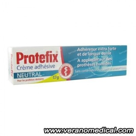 Protefix Crème Adhésive Neutrale | 40 ml tube