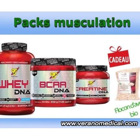 Pack de croissance musculaire  sec